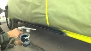 Покраска порогов авто в Санкт-Петербурге